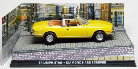 1:43 Triumph Stag - Diamonds Are Forever