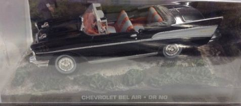 1:43 Chevrolet Bel Air from 007 movie 'Dr. No'
