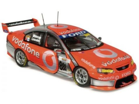 1:18 Classic Carlectables Bathurst Winner 2007 Ford BF Falcon #888 Craig Lowndes & Jamie Whincup Team Vodafone