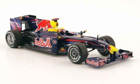 1:43 Minichamps Red Bull Racing Renault RB5 2009 M. Webber