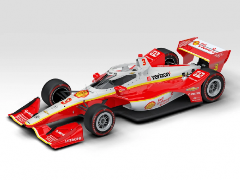 PREORDER 1:64 Authentic Collectibles 2020 #3 Dallara Chevrolet INDYCAR Scott McLaughlin St. Petersburg GP