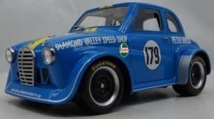1:18 Ace Models Jamie Brocks Replica of Peter Brocks Austin A30 - Sky Blue - Car 05 - Resin Model