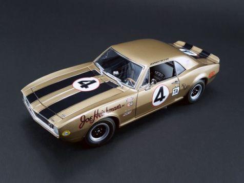 1:18 ACME 1967 Chevrolet Camaro #1 Joie Chitwod Chargin' Cherokee A1805713
