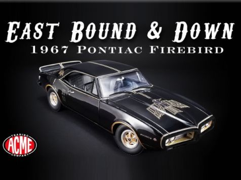 1:18 ACME 1967 Pontiac Firebird East Bound & Down A1805207