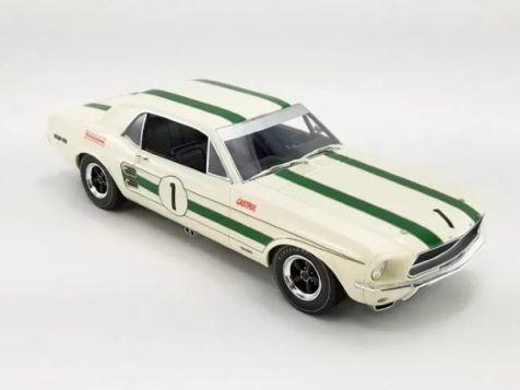 1:18 Apex Replicas 1969 ATCC Winning Ford Mustang #1 Ian Geoghegan