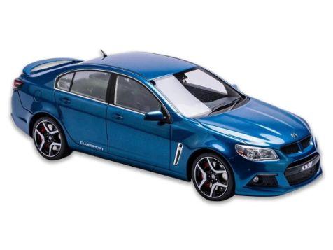 1:18 Apex Replicas Holden HSV Gen-F Clubsport R8 in Perfect Blue