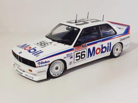 1:18 Autoart BMW M3 1988 Tooheys 1000 Peter Brock and Jim Richards #56 diecast model car