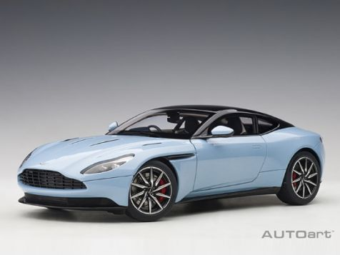 1:18 AUTOart Aston Martin DB11 in Q Frosted Glass Blue