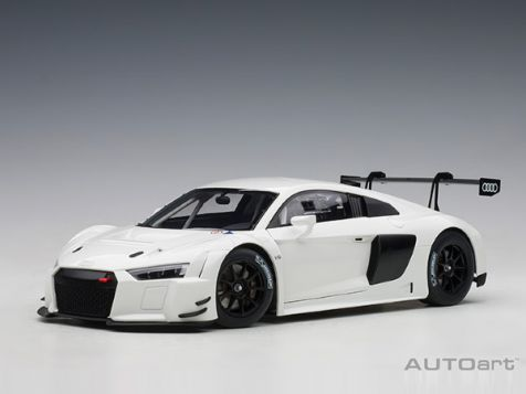 1:18 AUTOart Audi R8 FIA GT GT3 in Plain White Colour Version