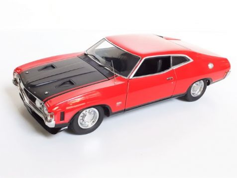 1:18 Biante Ford XA Falcon GT Hardtop - Red Pepper diecast model car