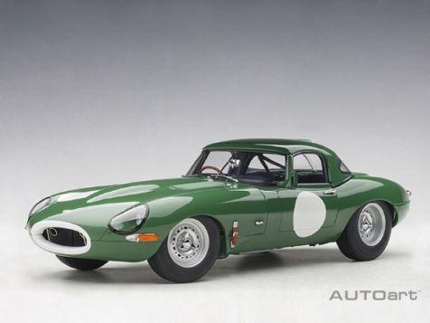 1:18 AUTOart Jaguar E-Type Lightweight in Racing Green