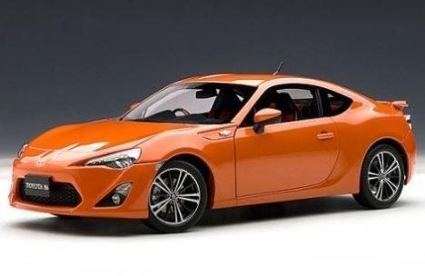 1:18 AUTOart Toyota 86 GT Limited RHD - Orange Metallic