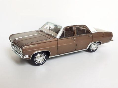 1:18 Classic Carlectables 1966 Holden HR Premier in Savonnah Bronze