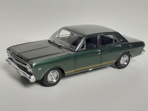 1:18 Classic Carlectables 1967 Ford XR Falcon GT in Ivy Green