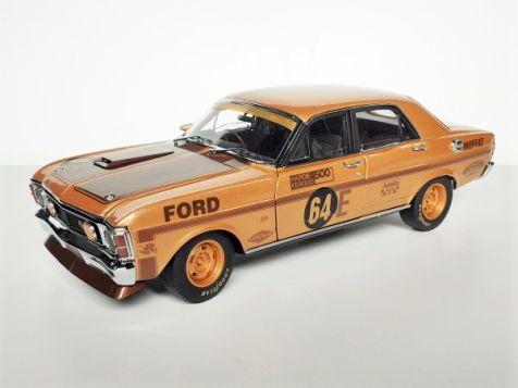 1:18 Classic Carlectables 1970 Bathurst Winning Ford XW Falcon #64E Allan Moffat Gold Livery 50th Anniversary Edition