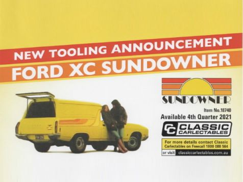 PREORDER 1:18 Classic Carlectables Ford XC Sundowner in Pine'n'Lime