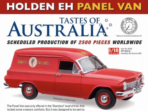 1:18 Classic Carlectables Holden EH Panel Van Arnott's Biscuits