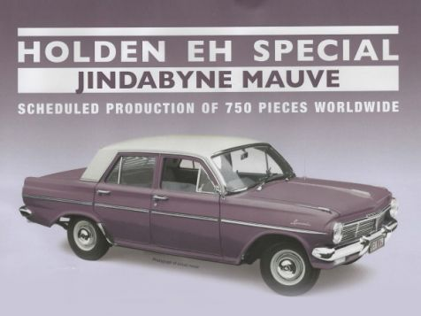 1:18 Classic Carlectables Holden EH Special in Jindabyne Mauve 18748