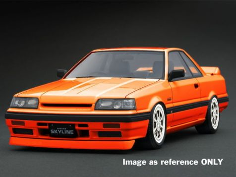 1:18 DDA Nissan Skyline HR31 in Orange
