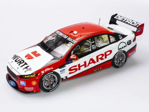 1:18 Authentic Collectables 2016 Ford FGX Falcon DJR #12 Coulthard