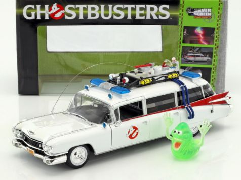1:18 ERTL Ecto-1 1959 Cadillac Ambulance from Ghostbusters Movie