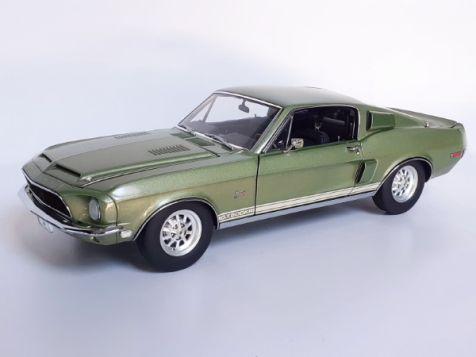 1:18 Exact Detail Replicas 1968 shelby GT500  Green