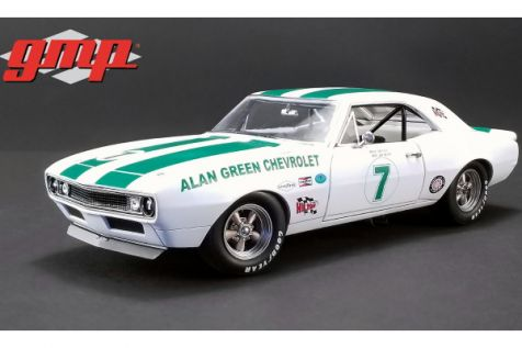 1:18 GMP 1967 Chevrolet Trans AM Camaro #7 Alan Green