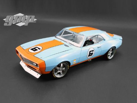 1:18 GMP 1968 Chevrolet Camaro Gulf Oil #6 Street Fighter 18814