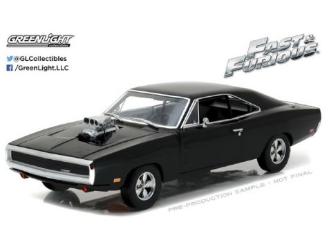 1:18 Greenlight Dom's 1970 Dodge Charger Fast & Furious 19027