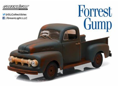 1:18 Greenlight - 1951 Ford F1 Truck - Forrest Gump Movie