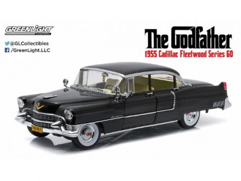 1:18 Greenlight The Godfather 1955 Cadillac Fleetwood Series 60