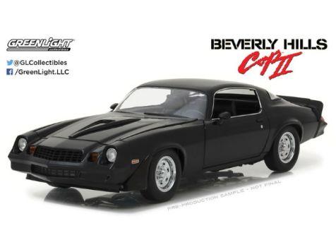 1:18 Greenlight Beverly Hills Cop II 1978 Chevrolet Camaro Z28 Black