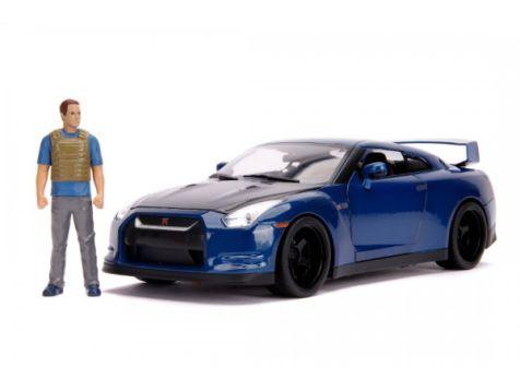 1:18 Jada Brian's Nissan GTR (R35) 2009 Fast & Furious 7 31142