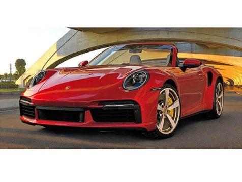 1:18 Minichamps 2020 Porsche 911 (992) Turbo S Cabriolet in Silver Metallic