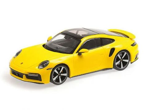 1:18 Minichamps 2020 Porsche 911 (992) Turbo S in Guards Red