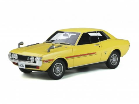 1:18 Otto Models 1970 Toyota Celica GT Coupe R22 in Yellow