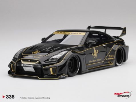 PREORDER 1:18 Top Speed LB-Silhouette WORKS GT Nissan 35GT-RR Ver. 1 JPS Livery