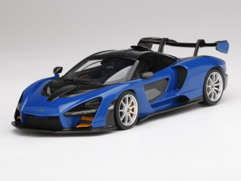 1:18 Top Speed McLaren Senna in Antares Blue TS0248