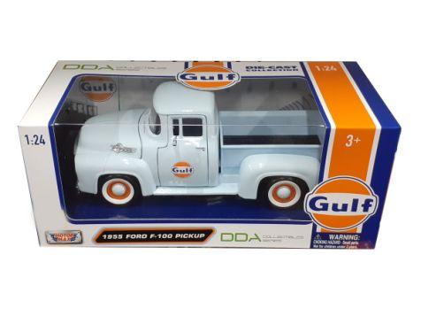 1:24 DDA 1955 Ford F-100 Pickup Truck Gulf Livery DDA79659