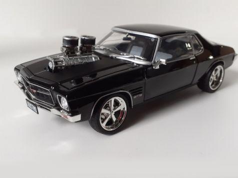 1:24 DDA 1973 Holden HQ Monaro GTS in Black CHASE VERSION