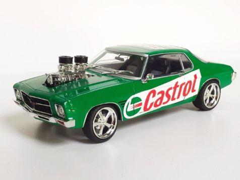 "1973 Holden HQ Monaro GTS ""HANFUL"" Street Machine CHASE/GOLD VERSION"