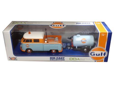1:24 DDA Volkswagen Type 2 Delivery Van Gulf Livery DDA79649