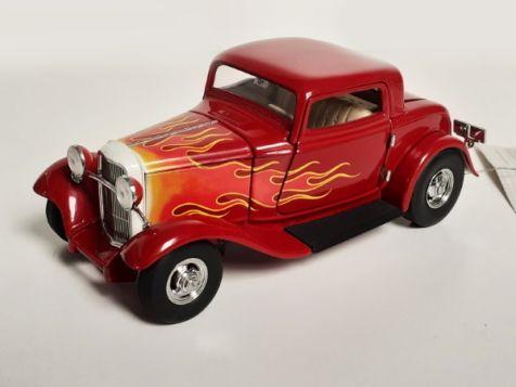 1:24 Franklin Mint 1932 Deuce Coupe Hot Rod Diecast Model