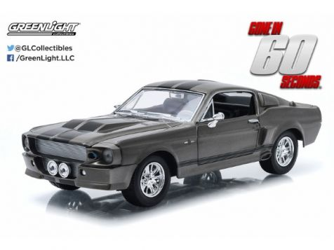 1:24 Greenlight Gone in Sixty Seconds Eleanor 1967 Ford Mustang 18220
