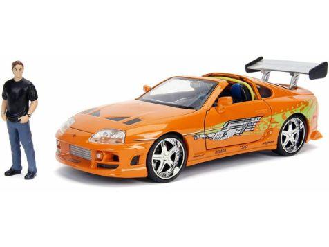 1:24 Jada Fast & Furious Brian & Toyota Supra 30738