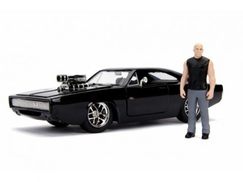 1:24 Jada Fast & Furious Dom & Dodge Charger R/T 30737