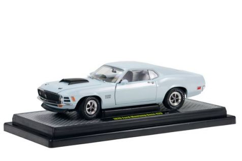 1:24 - M2 Machines - Detroit Muscle - 1970 Ford Mustang Boss 429 - Grey - Item #11-27
