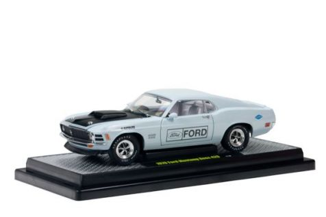 1:24 - M2 Machines - Detroit Muscle - 1970 Ford Mustang Boss 429 - Grey - Item #11-30
