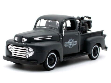 1:24 Maisto - H-D Custom - 1948 Ford F-1 Pick Up / 1942 WLA Flathead - Item #32185
