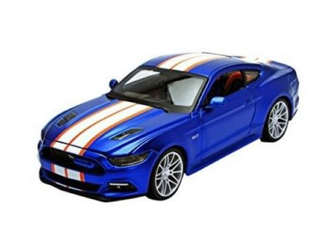 1:24 - Maisto - Custom Shop Diecast Collection- 2015 Ford Mustang GT - Blue - Item #31369